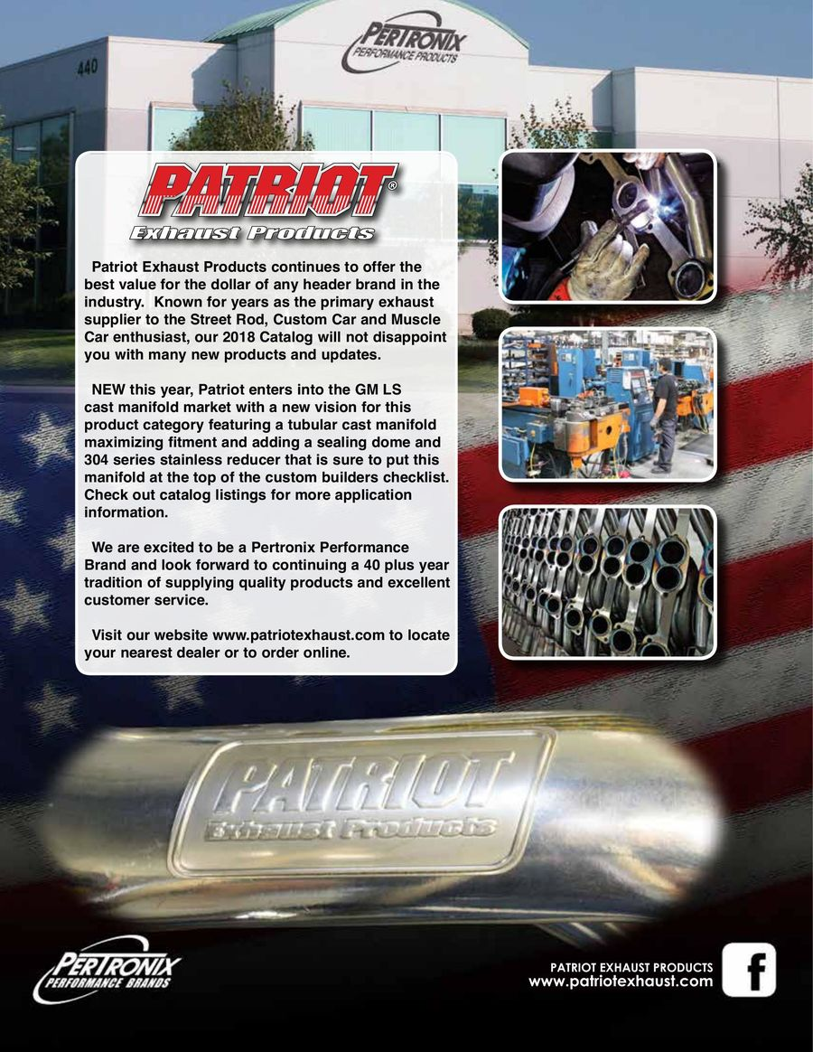 """Patriot H8403 64-73 Ford Mustang Small Block 1 5//8/"""" Long Tube Headers Raw Steel"""