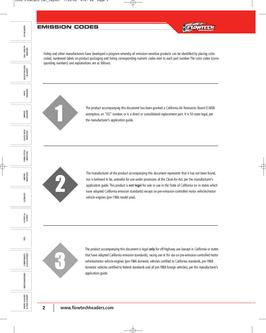 Flowtech Exhaust & Airmass Headers