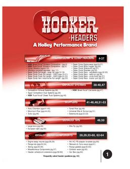Hooker Headers Exhaust Systems & Accessories