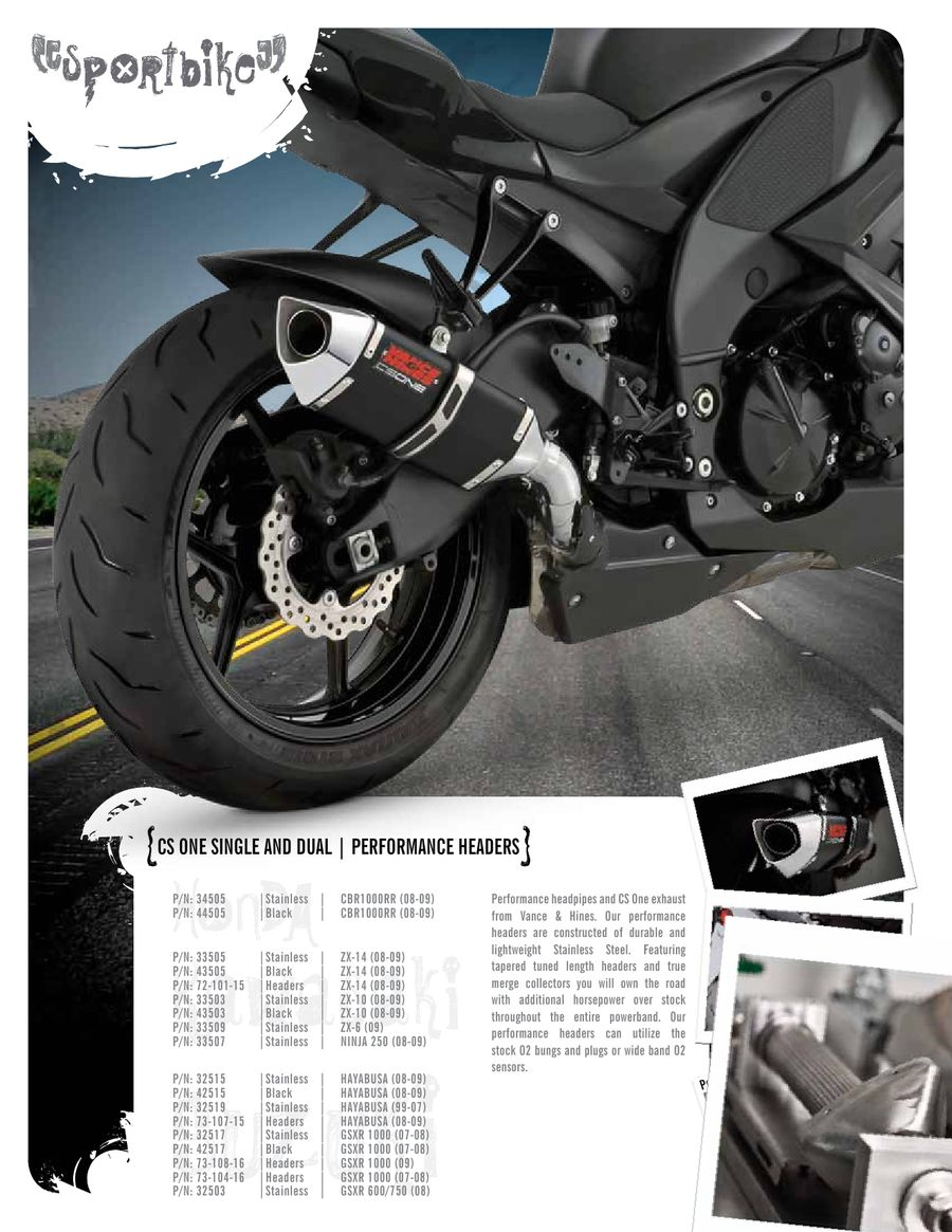 Page 38 of 2009 Metric Motorcycle Exhausts