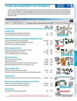 Flow Measurement Instruments 03/13/2010