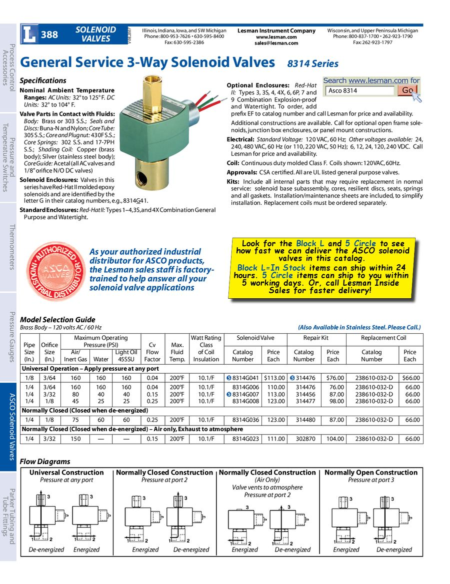 Page 24 Of Asco Solenoid Valves 3 Way Valve Wiring Diagram P 35