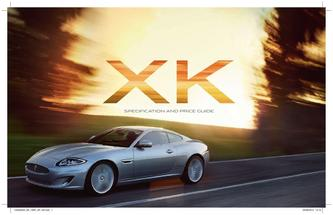 Jaguar XK specification and price guide 2014