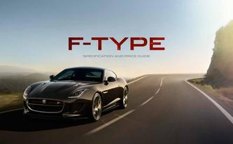 F-TYPE Specification & Price Guide 2015