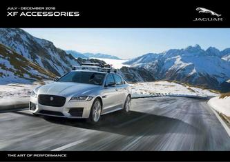 Jaguar XF Accessories 2016