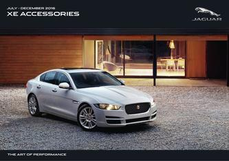 Jaguar XE Accessories 2017