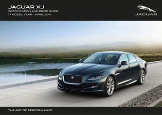 Jaguar XJ Pricing and Specification Guide 2017