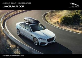 Jaguar XF Saloon Accessories 2019