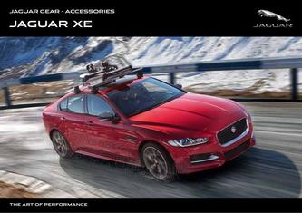 Jaguar XE Accessories 2018