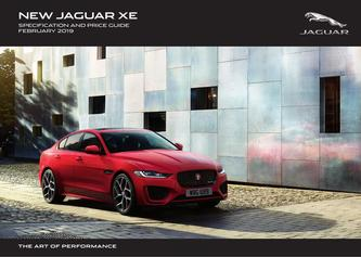New Jaguar XE Pricing and Specification Guide 2019