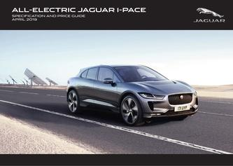 Jaguar I-PACE Pricing and Specification Guide 2019