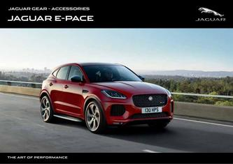 Jaguar E-PACE Accessories 2019