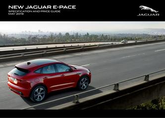 Jaguar E-PACE Pricing and Specification Guide 2019