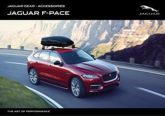 Jaguar F-PACE Accessories 2019