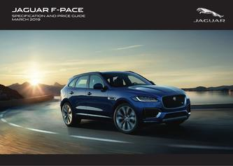 Jaguar-F-PACE Pricing and Specification Guide 2019