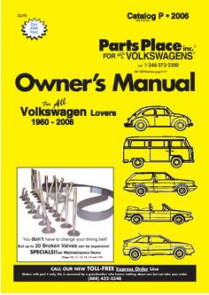 Volkswagen Parts Overview