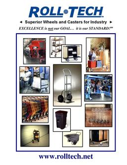 Superior Wheels and Casters for Industry