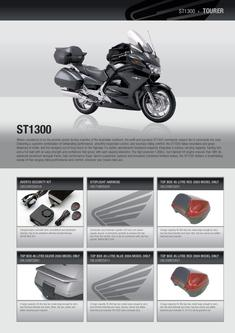Honda Tourer Accessories Range