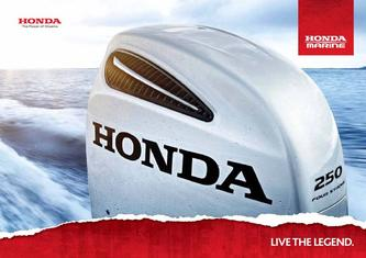 Honda Marine Range Catalogue 2012