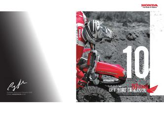 2007 Honda Off Road Range Brochure