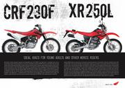 catalog  2007 honda off road
