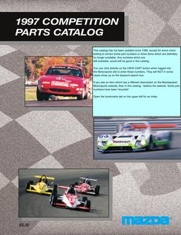 1997 Competition Parts Catalog