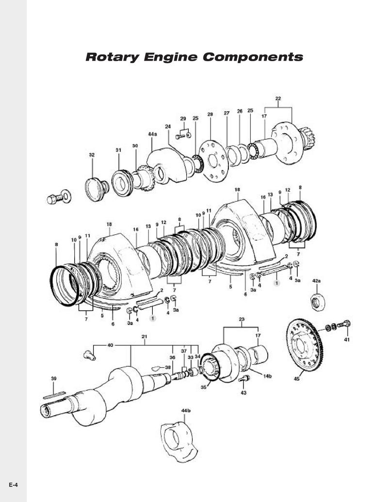 Rotary Engine By Mazda Motorsports 1987 Rx 7 Diagram