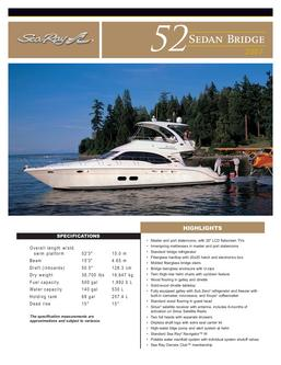 Sea Ray 52 Sedan Bridge 2007