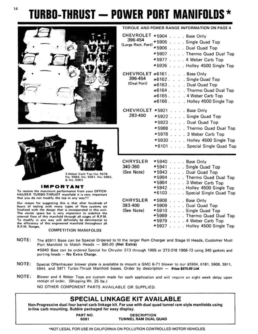 Page 15 of Offenhauser Automotive Performance Products