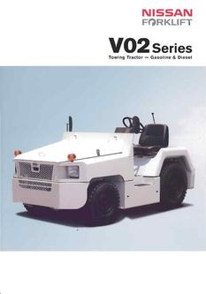 V02 Series Towing Tractor