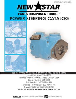 Power Steering Catalog