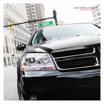 2011 Dodge Avenger by Dodge