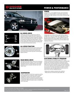 Dodge Charger & Performance 2007