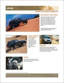 Jeep Liberty Capabilities 2007