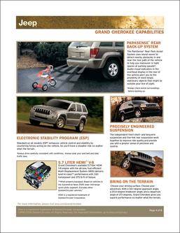 Jeep Grand Cherokee Capabilities 2007