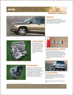 Jeep Compass Capabilities 2007