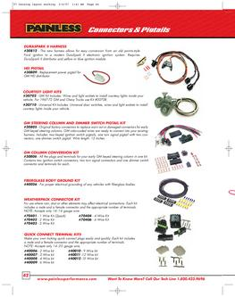 gm color code for steering column wiring in Connectors
