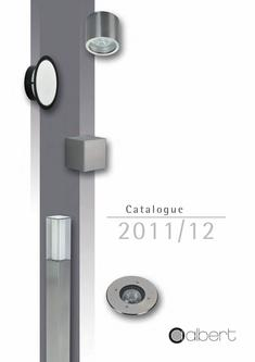 Catalogue: Gebr. Albert Leuchten Albert Lighting 2011/12