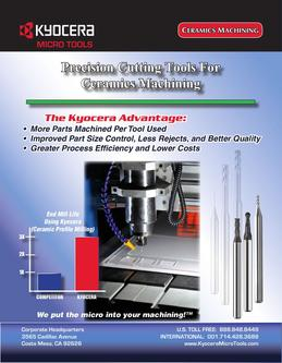 Catalogue: Kyocera Micro Tools for Ceramics Machining