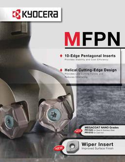 MFPN High-Efficiency Face Mill
