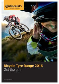 Bicycle Tyre Range 2016