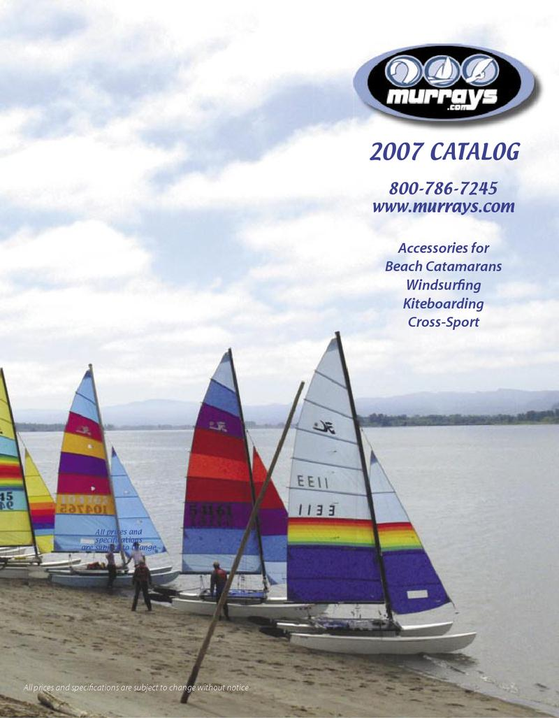 Accessories for catamaran and dinghy sailing, windsurfing and