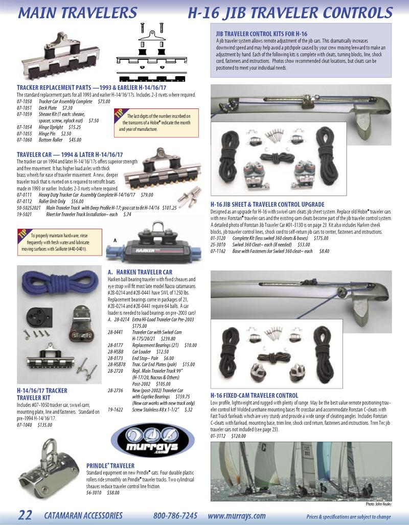Page 25 of Accessories for catamaran and dinghy sailing