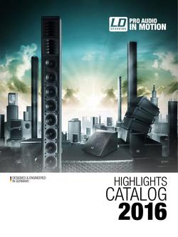 LD Systems Product Highlights 2016
