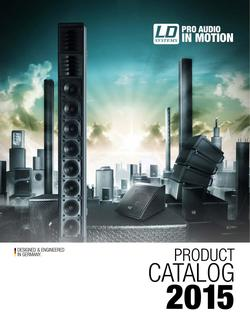 LD Systems Product Catalog 2015
