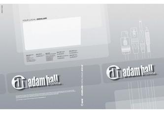 Adam Hall Cable Catalog 2012
