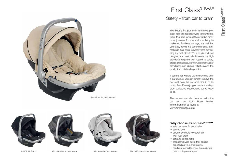 Page 67 Of Emmaljunga Strollers And Prams 2014