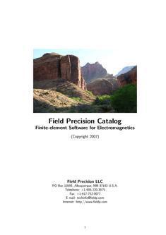 Field Precision Catalog