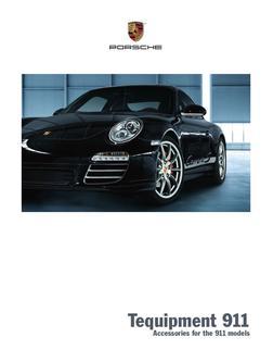 Porsche 997 In 2011 Tequipment 911 By Porsche Usa