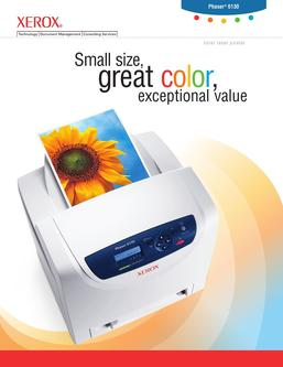Phaser 6130 color laser printer